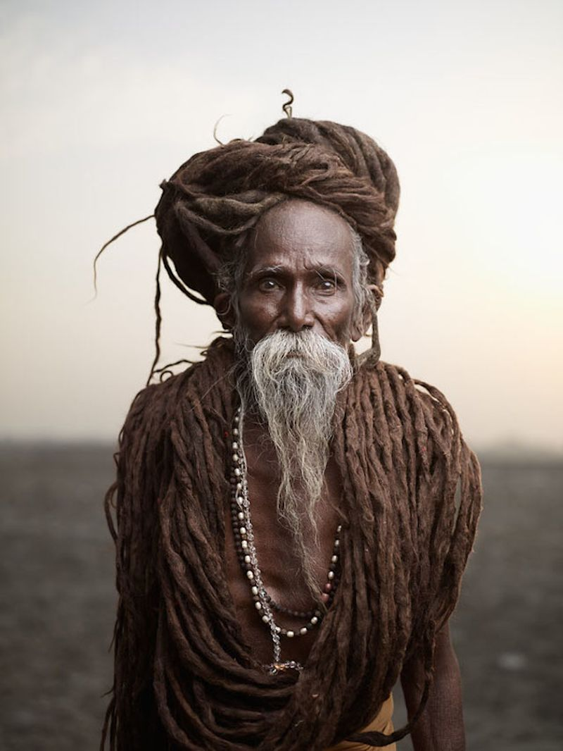 image: Holy Men of India by martanicolas
