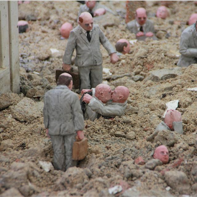 image: Los ciudadanos de cemento en la jungla de cemento de Is by arteuparte