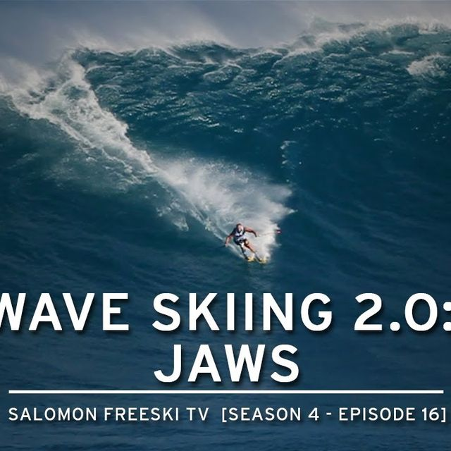 video: Wave Skiing - JAWS by carlos-ramoswipeout