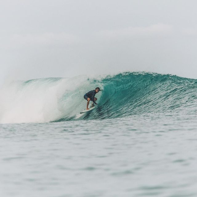 image: Little shade from the tropical sun in the mentawais last year. Can't wait to get back in the water in a week!!Photo by @ellenmarytaylor by tiago_kerber