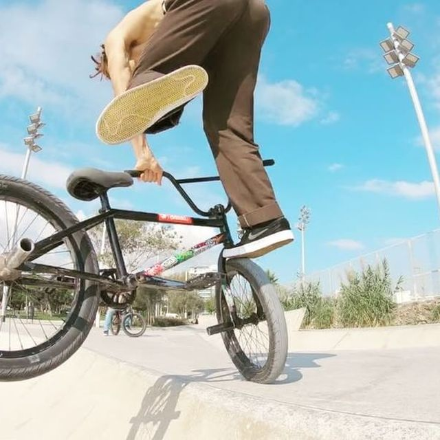 image: ☀️summer in october clip by @lntstefan @gopro #goprohero6 #bmx #bcnkills @theshadowconspiracy @subrosabrand by simobarraco