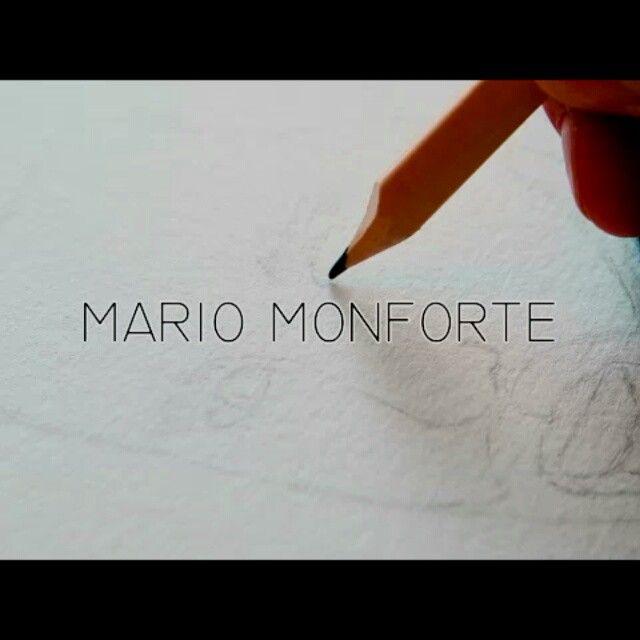 video: @mariomonforte #PORTRAIT New #artwork coming soon #i... by daniel_rod