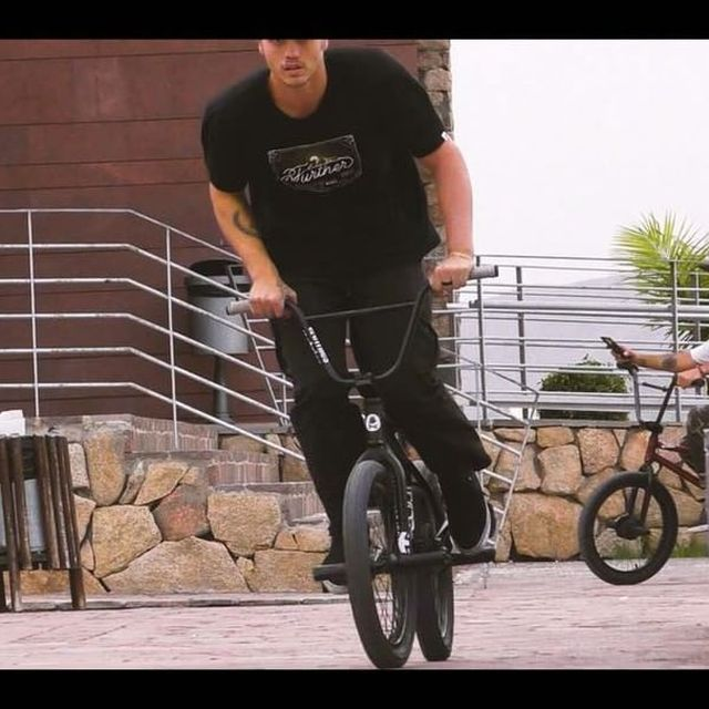 """image: New @flybikesbmx """"Journeys""""? edit  now live at Flybikes.com and on @digbmx ????! Thanks to @devonsmillie @tonash1 @frankblurry for the amazing time in Tenerife ♥️??????/ link in bio ✌? #bmx #flybikesjourneys #tenerife by courageadams"""