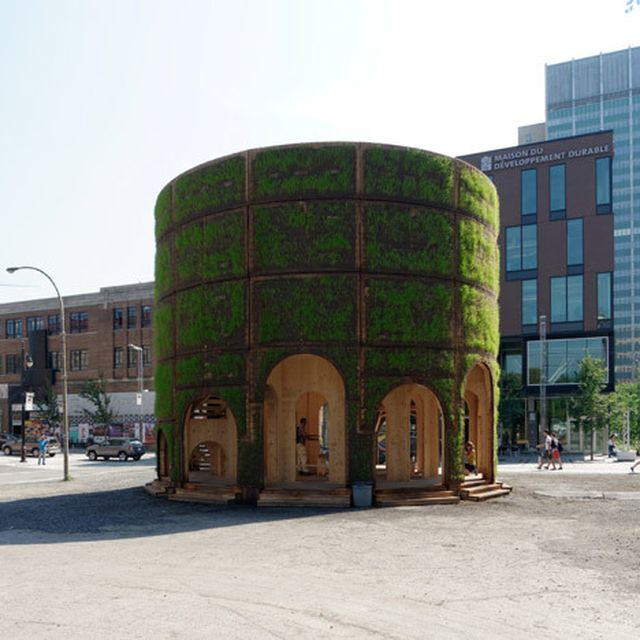 image: Raumlaborberlin builds a grass-covered enclosure aro... by hallowedbronze