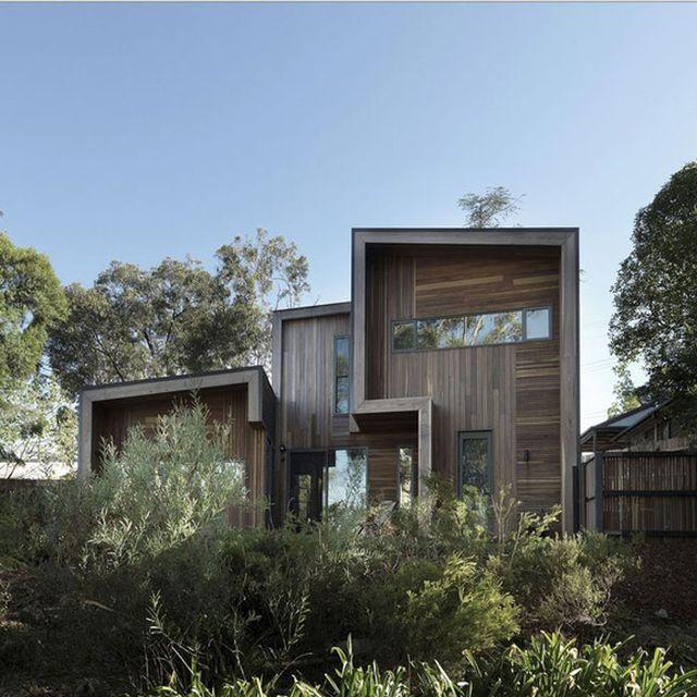 image: Wooden House in the Woods by pattercoolness