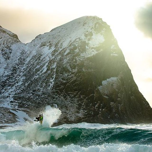 image: SURFING THE LOFOTEN ISLANDS, NORWAY by luciaode