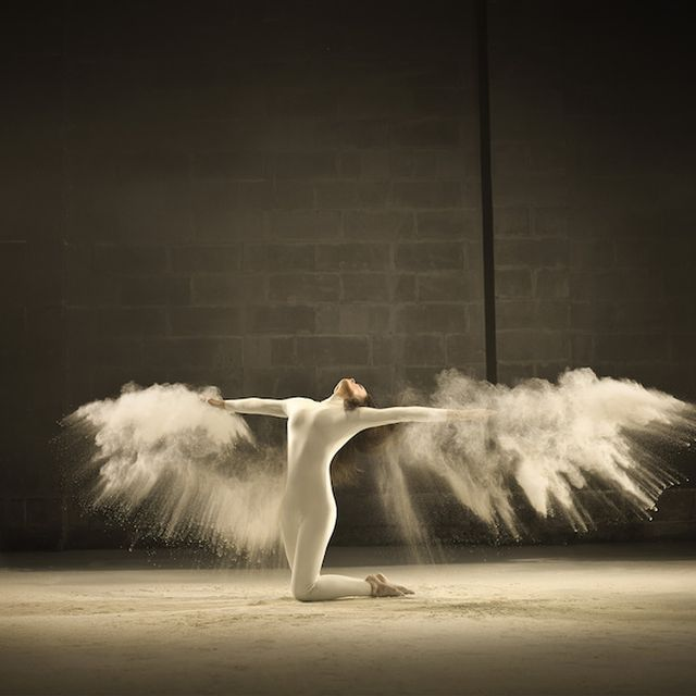 image: Dancer Freezes Time in Jeffrey Vanhoutte's Project by wackynavyblue