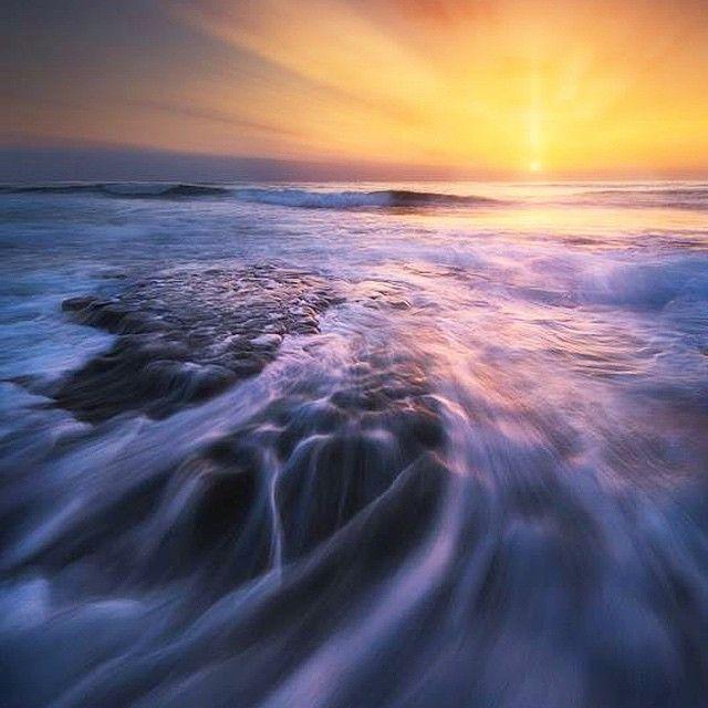 image: San Diego sunset. by michael_shainblum