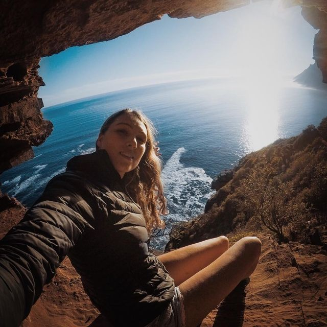 image: Caving with a view! ...@capeunionmart #gearupgetout by fainepearl
