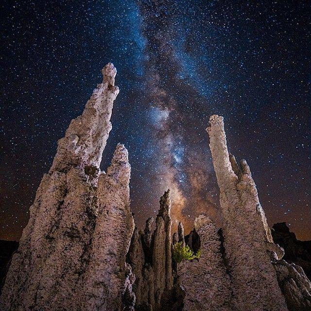 image: Mono Lake Milky Way by michael_shainblum