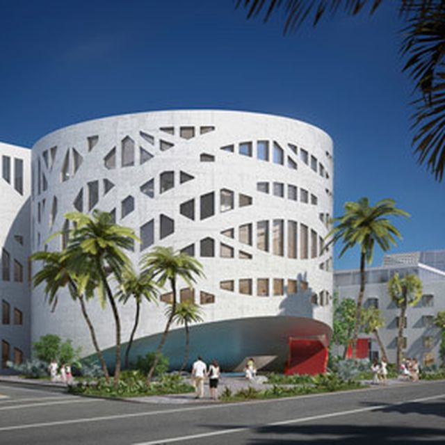 image: Rem Koolhaas' Faena Forum in Miami shown in new rend... by hallowedbronze