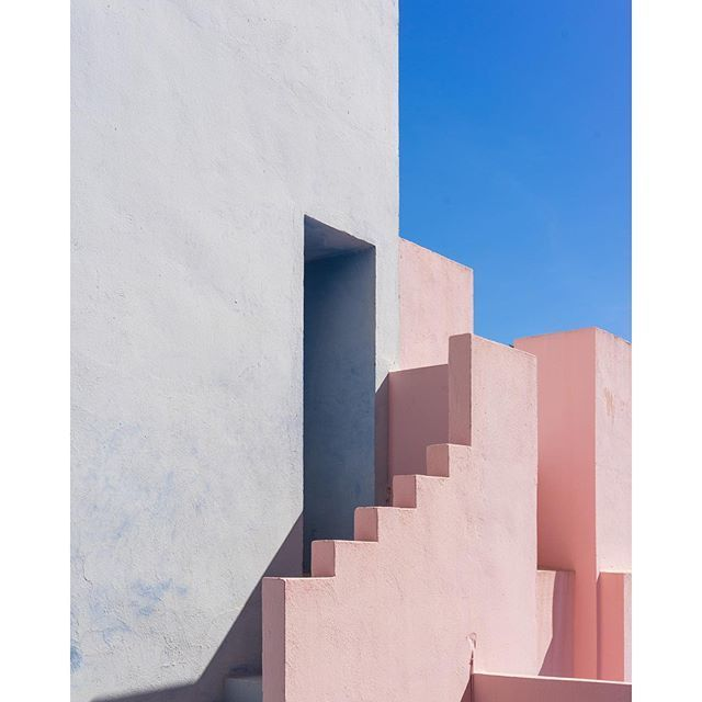 image: Lovely colors and shapes.The Red Wall,  by misswinter