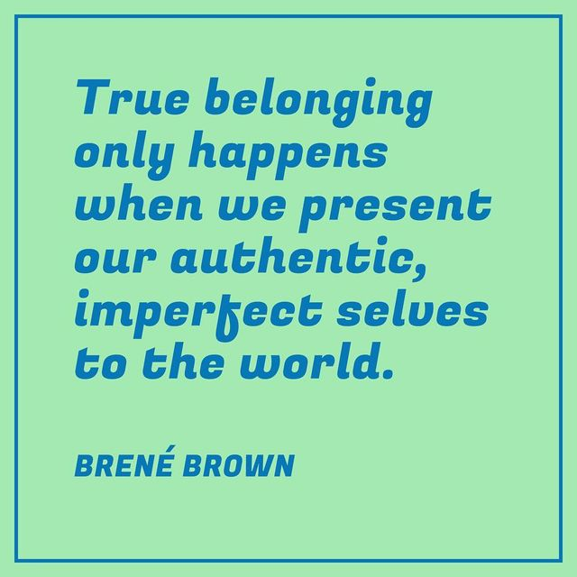 "image: What does it mean to truly belong in an age of increased polarization? In her new book, ""Braving the Wilderness,"" Brené Brown says that belonging comes once we have the courage to be vulnerable and authentic. Only then will we be able to fully connect... by ted"