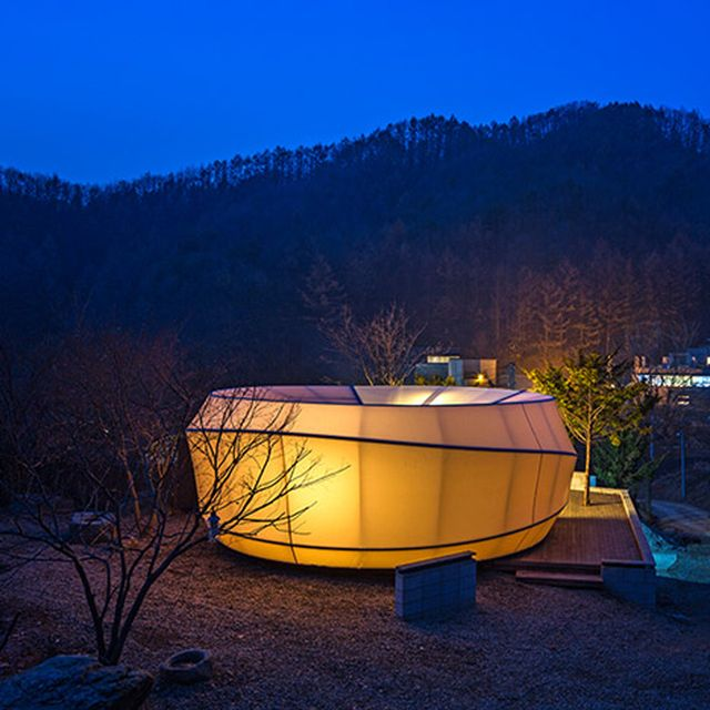image: Glamping tents by ArchiWorkshop by pattercoolness