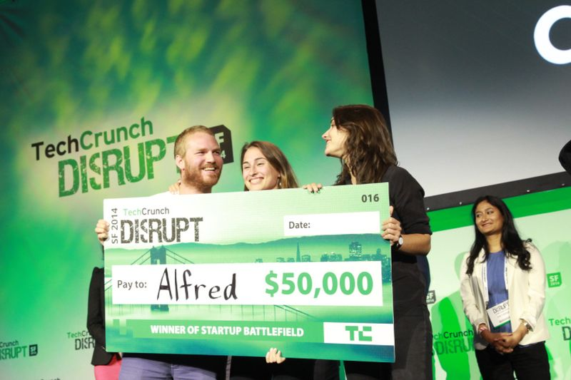 image: And The Winner Of TechCrunch Disrupt SF 2014 Is…Alfred! by greedygop