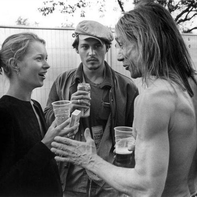 image: Kate, Johnny, Iggy Pop by arceados