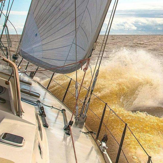 image: 26º Circuito Conesul de Vela - Congere -Troféu Seival...Itapia Brazil ??.? sent to us by @fabianobenedetti by sailing_boats