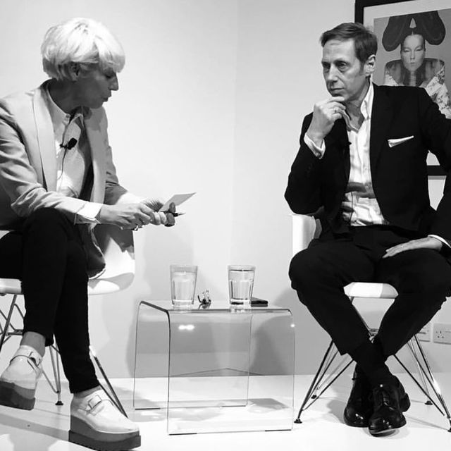 image: I really enjoyed my talk with @mimmav at @sarabandefoundation last night. We talked about the idea of artistic collaboration .Thank you to everyone who turned up despite the rain , you were great audience ! #sarabandefoundation #theketeloneway @ketelone by nickknight