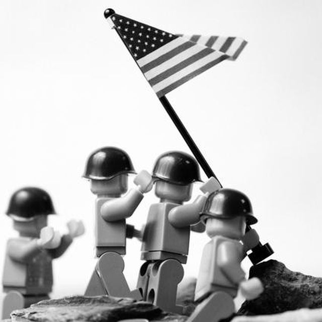 image: Iwo Jima by Lego by ainielle