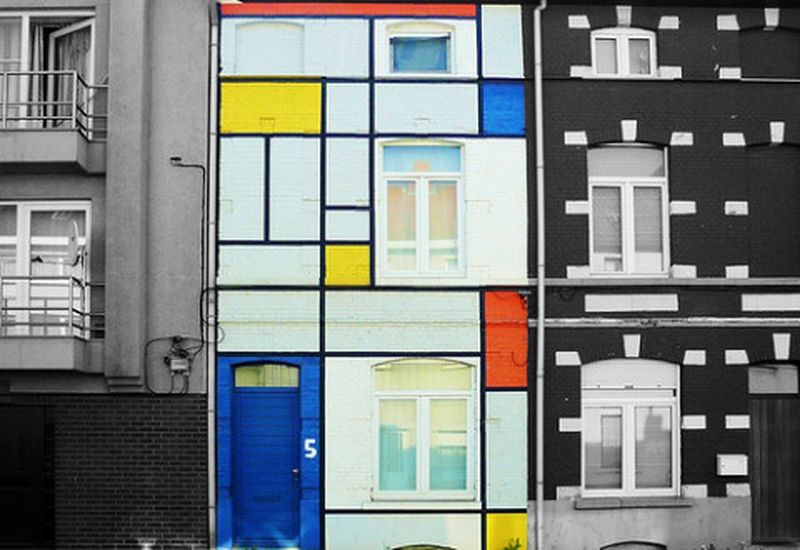 image: COOL MONDRIAN HOUSE by hutu1109