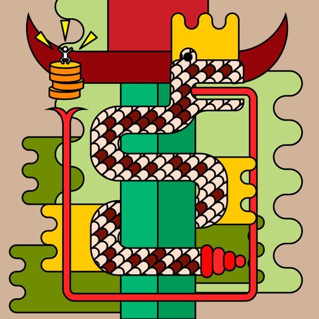 "image: GOOD MONEY GOD ""DOURO"" by vektorama"