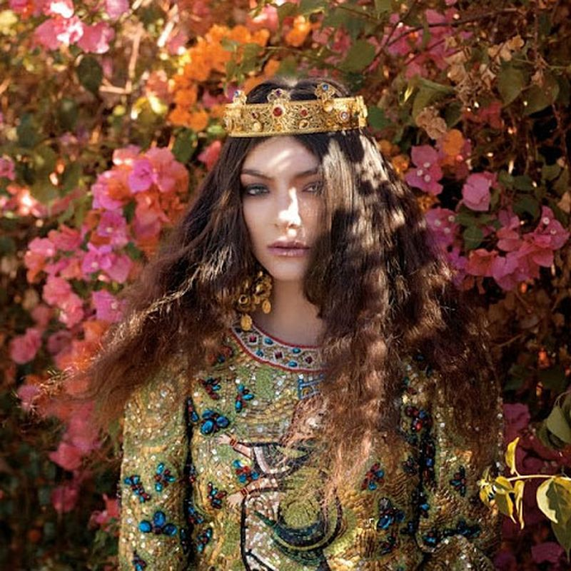 image: Lorde for The Wild Magazine December 2013 by fashionnet