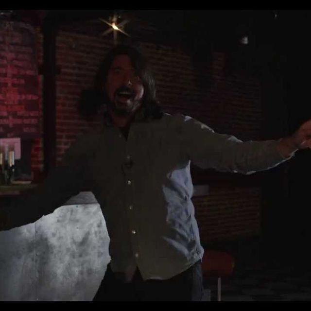 video: Dave Grohl after getting an award by scatterbrainer