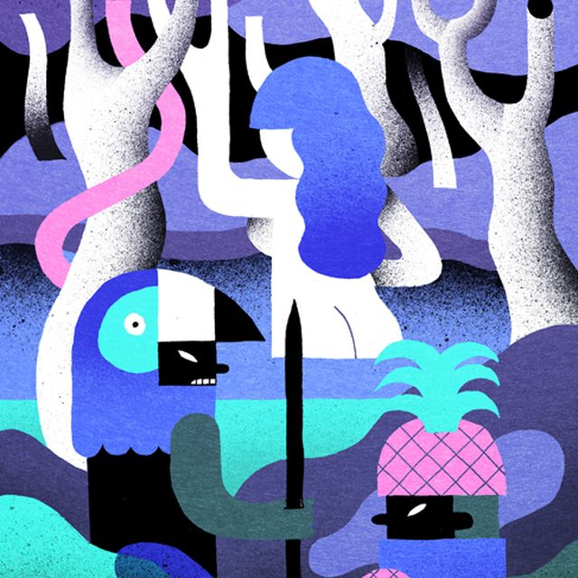 image: A Colourful Illustrated World Created by Levi Jacobs by snottyorchid