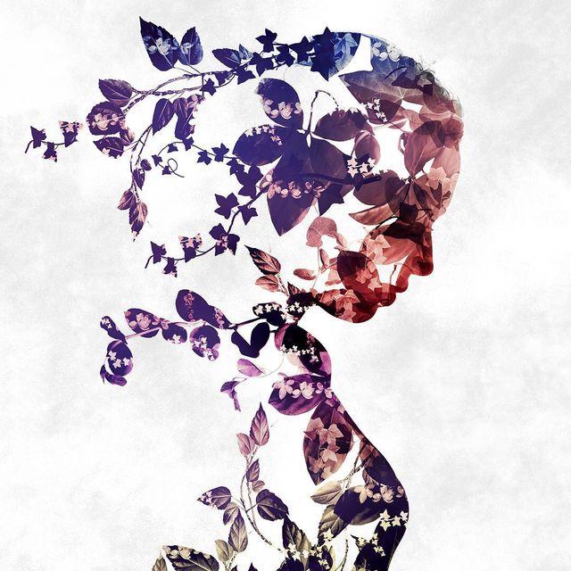 image: ✖️Silhouette Ivy Colory✖️??Nouvelle double exposition de silhouette ? bonne soirée ??My hashtag => #ciscograph by ciscographie
