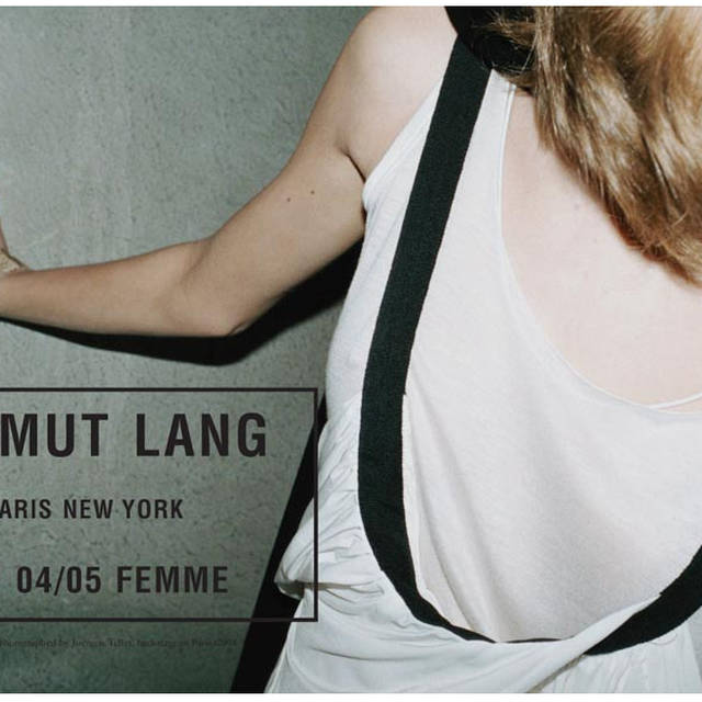 image: Helmut Lang - advertising campaign by Jürgen Teller by leolo