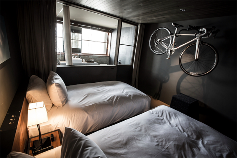 image: At hotel for cyclists, guests can ride right up to r... by smartsnisps