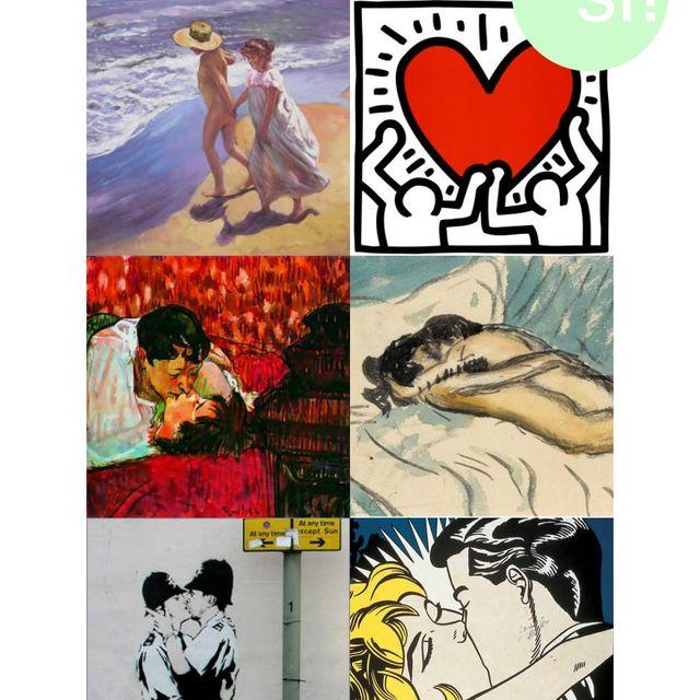 image: San Valentín con arte | Sí al sí quiero by sialsiquiero