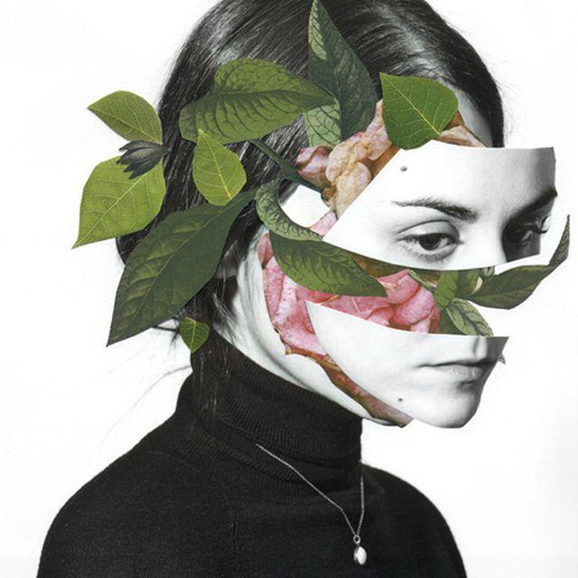 image: Selfportrait / handmde collage by rocio_montoya