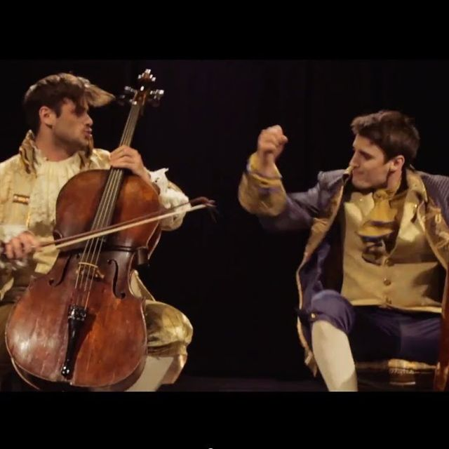 video: 2CELLOS - Thunderstruck [OFFICIAL VIDEO] by scatterbrainer