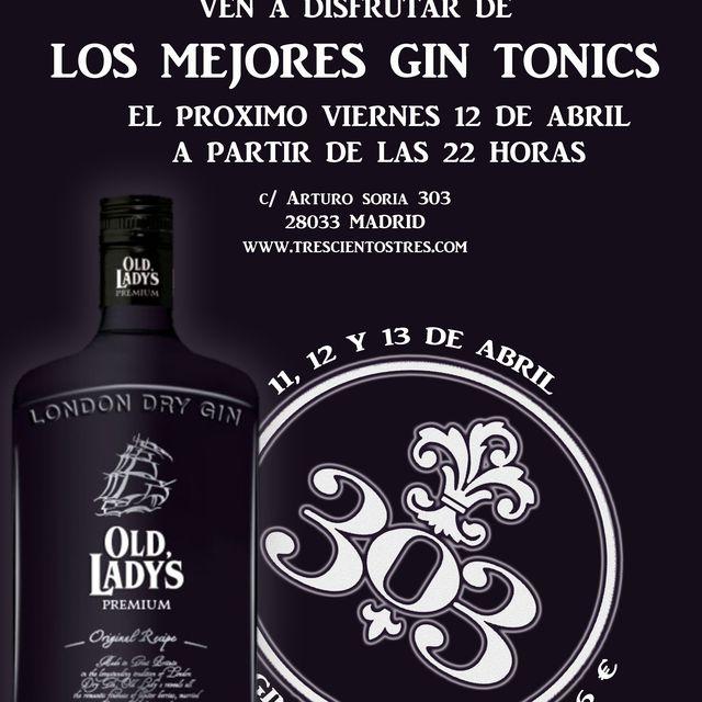 image: LOS MEJORES GIN TONICS DE LA MANO DE OLD LADY'S PREMIUM by koki