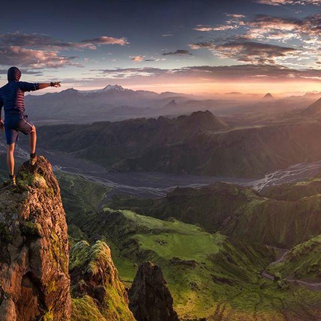 image: Thorsmork Mountain, Iceland by magicberrys