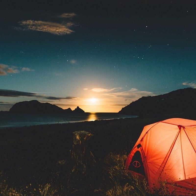 image: coffeentrees:Give a Poler Tent to someone for Christ... by unevencarmine