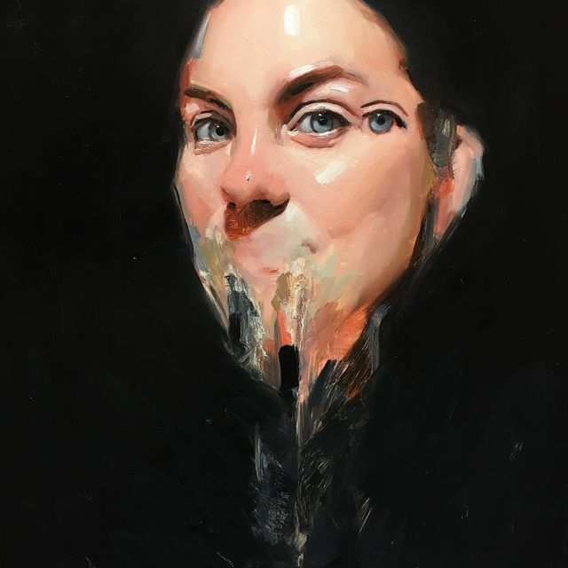 image: #oil #portrait #rangelife by emilio_villalba