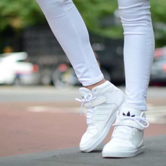 image: Addidas white Sneakers by mariash