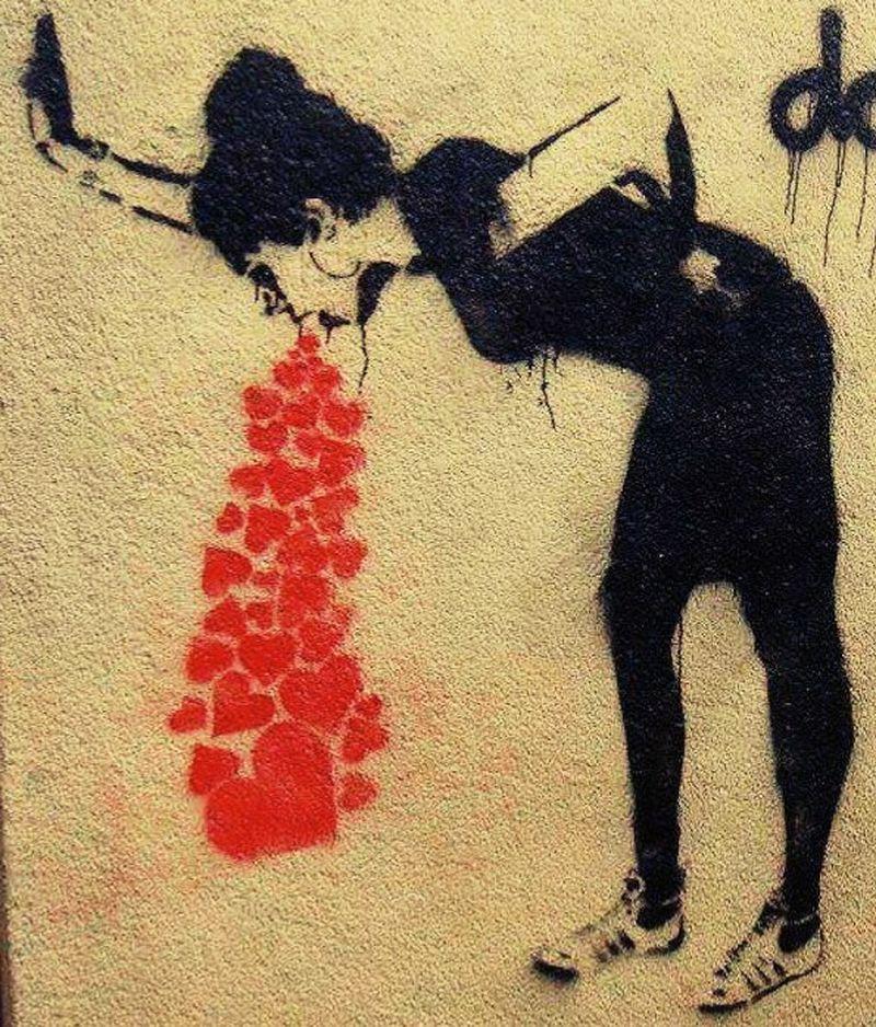 image: A estas ganas de vomitar las llamaré estar enamorada by RachelVigo