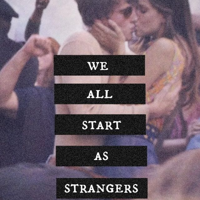 image: We all start as strangers by lucialdama