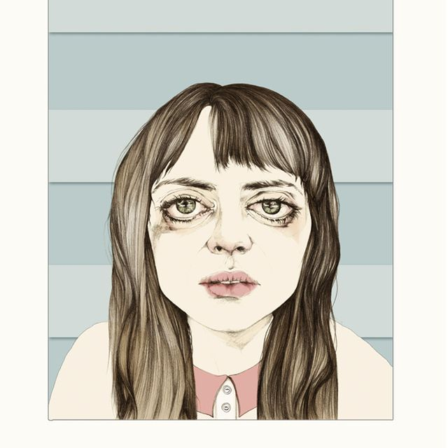 image: doble cara del Cine Español on Behance by ilustracionescecilia