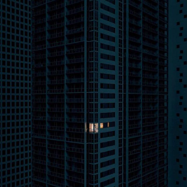image: Alone Together...by Aristotle Roufanis @aristotle.photography The bigger the city, the lonelier we feel. by ratedmodernart