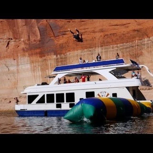 video: The Blob - Launching Humans 50 Feet High - Contour by Saracho