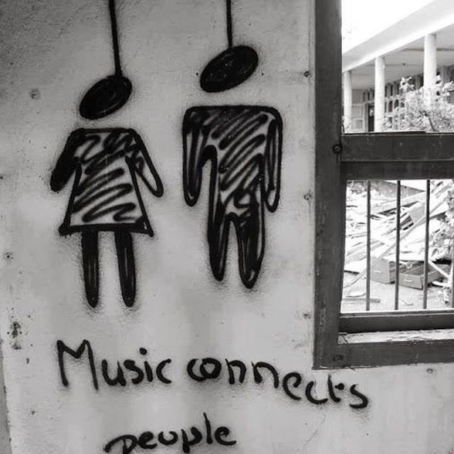 image: MUSIC CONNECTS PEOPLE by lucialdama