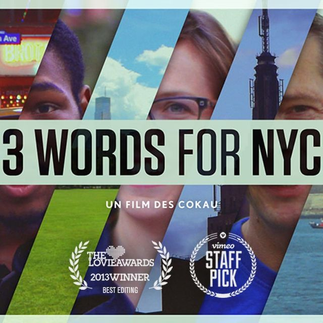 video: 3 words for NYC by triprebel