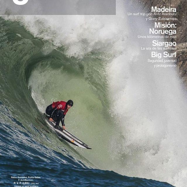 image: La primera edición @revista3sesenta del 2018. Emocionado de ser elegido en la portada! Eskerrik Asko!❤️#lagalea by natxogonzalez