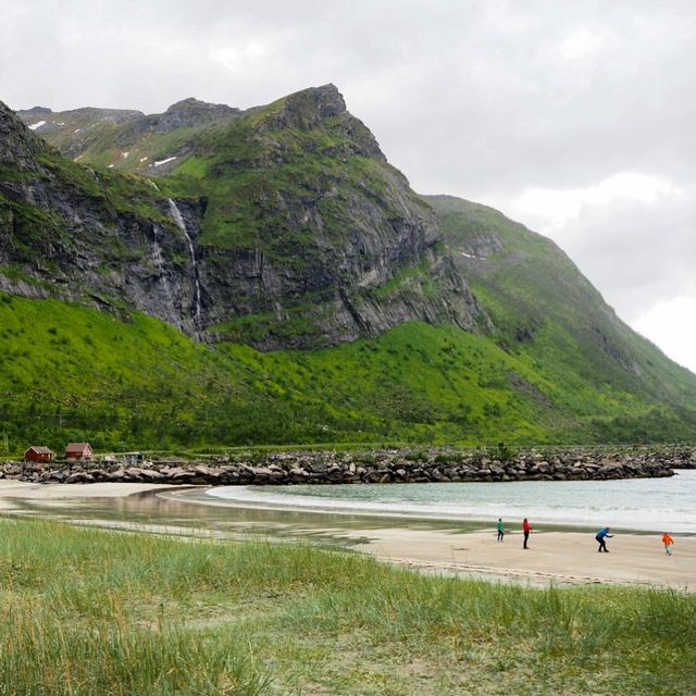 image: This is what a beach day in Northern Norway looks like. ☀️⛱?Is this your kind of beach? by dangerousbiz