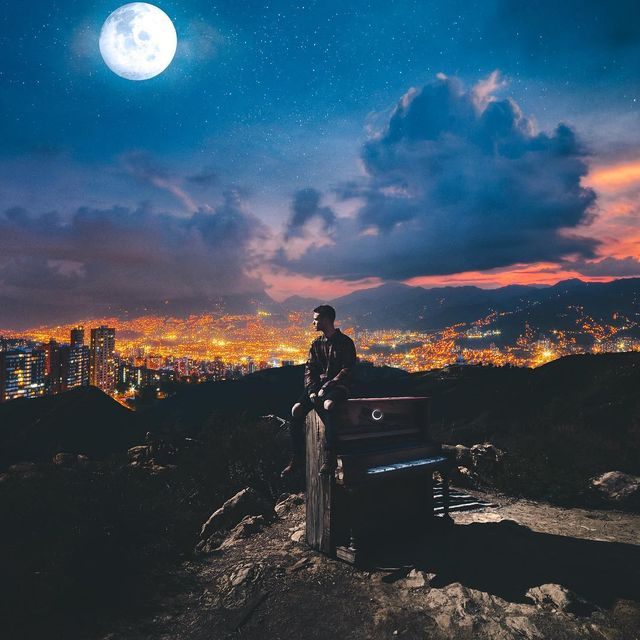 image: Moonlight Piano 🌙Hard work, self discipline, passion and respect. These things are vital for success. These are things I've learned and now practice in my everyday life. Once you implement these, the results will show for themselves. Visual w/ @taylorcu by kellansworld