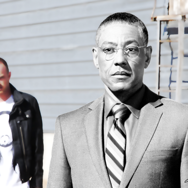 image: Gus Fring @ TV serie Breaking Bad by gabrielttoro